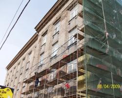 Технадзор за ремонтом фасада здания Гознак