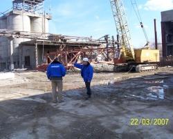 Технадзор за строительством завода в г. Электросталь