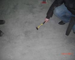Проверка бетонных полов