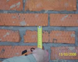 Обследование кровли и кирпичной кладки коттеджа на предмет качества выполнения строительных работ