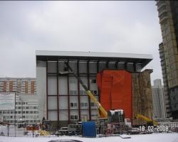 Технадзор за строительством спорткомплекса на пр-те Вернадского